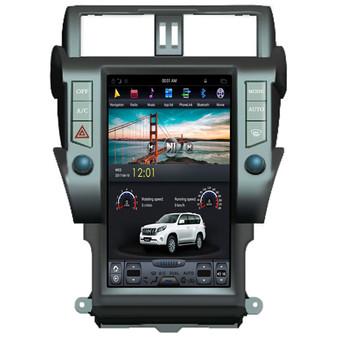 13.6'' Tesla Style Vertical Screen Navigation GPS  for Toyota Prado Plus 2010-2013