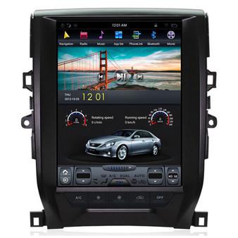 12.1 '' Tesla Style Vertical Screen Navigation GPS for Toyota Reiz 2012-2017