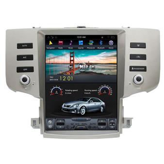 12.1 '' Toyota Reiz 2005-2009 Vertical Screen Tesla Style Android Navigation GPS