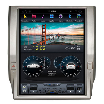 12.1 '' Tesla Style Toyota Tundra 2014-2018 Vertical Screen Android Navigation