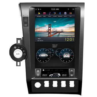 13.6 '' Toyota Tundra 2007-2011 Tesla Style Vertical Screen Android Navigation GPS