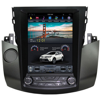 10.4 '' Toyota RAV4 2009-2012 Tesla Style Vertical Screen Android GPS Navigation