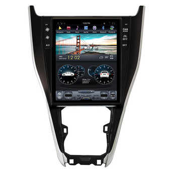 12.1 '' Toyota Harrier Tesla Style Vertical Screen Android Navigation GPS