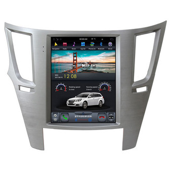 10.4 '' Subaru Outback 2010-2014 Vertical Screen Tesla Style Android Navigation GPS