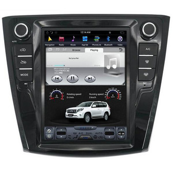 10.4 '' Renault Kadjar Tesla Style Vertical Screen GPS Android Navigation