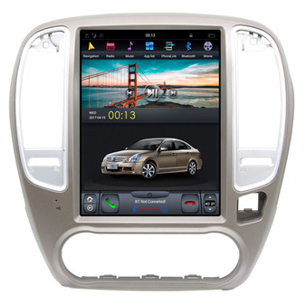 10.4 '' Tesla Style Vertical screen Navigation GPS for Nissan Classic Sylphy 2006-2018