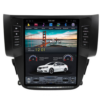 10.4 '' Nissan Sylphy 2012-2016 Tesla Style Vertical Screen Android Navigation