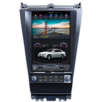 12.1 '' Tesla Style Android Navigation Vertical Screen for Honda Accord 2004-2007