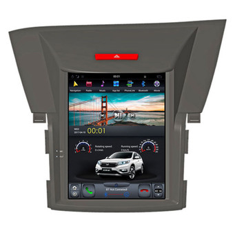 10.4 '' Tesla Style Vertical Screen Android Navigation GPS for Honda CRV 2012 -2016