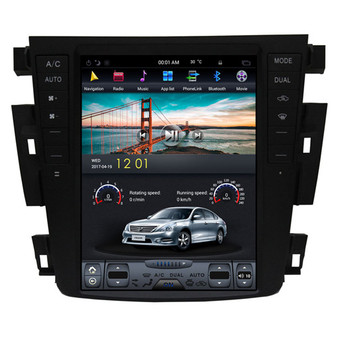 10.4 '' Tesla Style Vertical Screen Navigation GPS for Nissan Teana 2003-2007