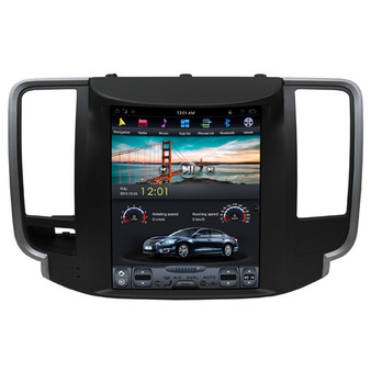 10.4 '' Nissan Teana 2008-2013 Tesla Style Vertical Screen Android Navigation GPS