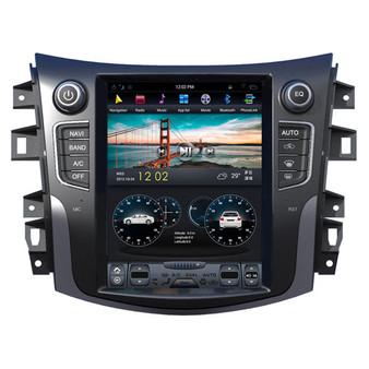 10.4 '' Tesla Style Vertical Screen Navigation GPS for Nissan Navara / NP300 2017 -2018