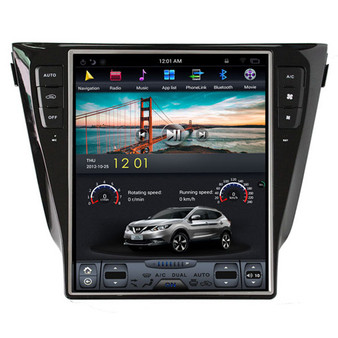 12.1 '' Nissan X-Trail 2014-2017 Tesla Style Vertical Screen Android GPS Navigation