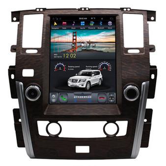 12.1 '' Tesla Style Vertical Screen Navigation GPS for Nissan Patrol SE(Wooden)