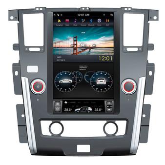 13.6 '' Nissan Patrol Plus Tesla Style Vertical Screen Android Navigation GPS
