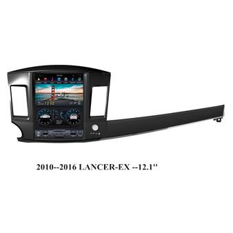 12.1 '' Tesla Style Android GPS Navigation for Mitsubishi Lancer-EX 2010-2016