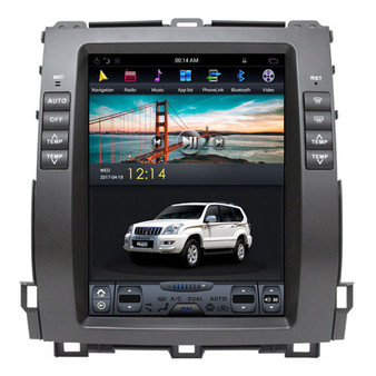 10.4 '' Vertical Screen Lexus GX470 2002-2009 Tesla Style Android Navigation GPS