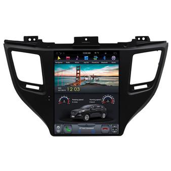 10.4 '' Hyundai Tucson 2015 Vertical Screen Tesla Style Autoradio Navigation
