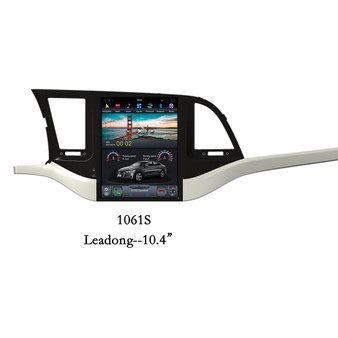 10.4 '' Hyundai Leadong 2016 Vertical Screen Tesla Style Android GPS Navigation