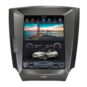 10.4 '' Lexus IS 2006-2012 Tesla Style Vertical Screen Android Navigation GPS