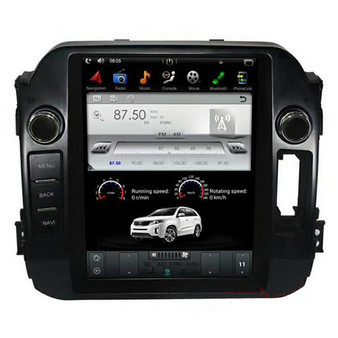 9.7 '' Kia Sportage 2011-2016 Tesla Style Vertical Screen Android GPS Navigation