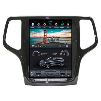 10.4 '' Jeep Grand Cherokee 2013-2017 Tesla Style Vertical Screen Android Navigation