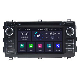 Toyota Auris android navigation gps system