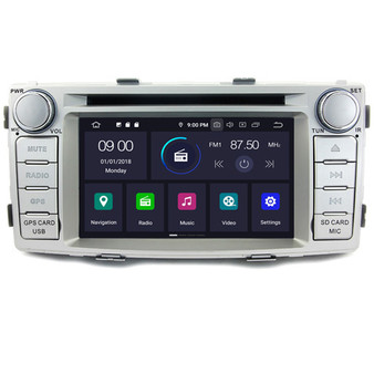 Toyota Hilux android navigation gps system