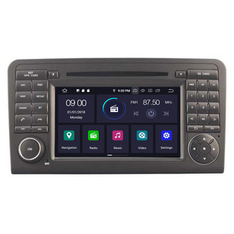 Mercedes ML 350 W164 GL X164 GL320 android navigation gps system