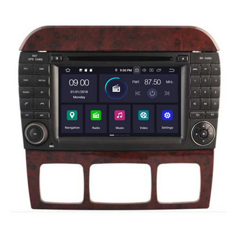 Mercedes Benz S class W220 android navigation gps system