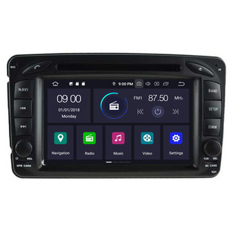 Mercedes C W203 CLK W209 M W163 W639 android navigation gps system