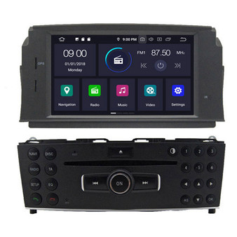 Mercedes Benz W204 C200 C180 android navigation gps system