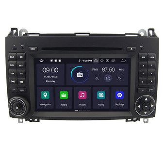 Mercedes Benz A/B W169,B W245 Viano Vito android navigation gps system