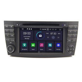 Mercedes Benz E W211 G W463 CLS W219 android navigation gps system