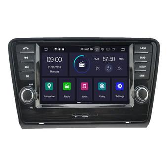 Skoda Octavia android navigation gps system
