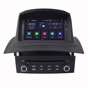 Renault Megane II Fluence android navigation gps system