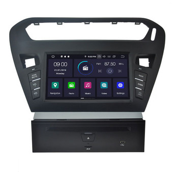 Citroen Elysee android navigation gps system