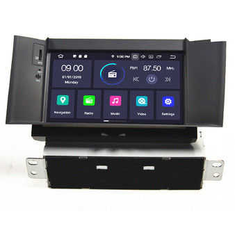 Citroen C4L android navigation gps system