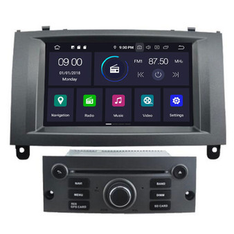 Peugeot 407  android navigation gps system