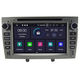 Peugeot 408 android navigation gps system