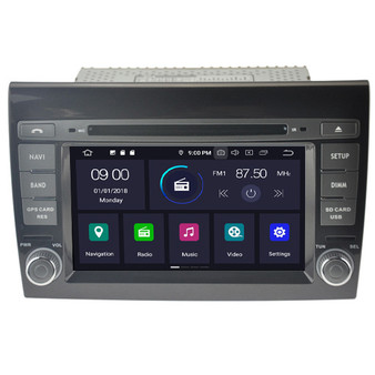 Fiat Bravo android navigation gps system