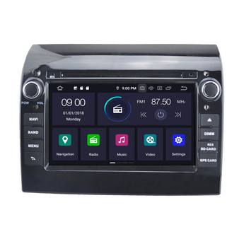 Fiat Ducato android navigation gps system