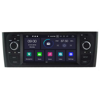 Fiat Old Punto android navigation gps system