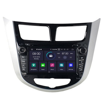 Hyundai Verna/Accent/Solaris android navigation gps system