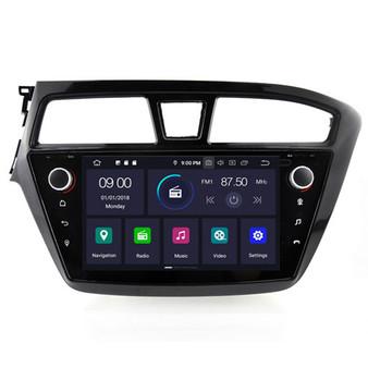 Hyundai i20 android navigation gps system