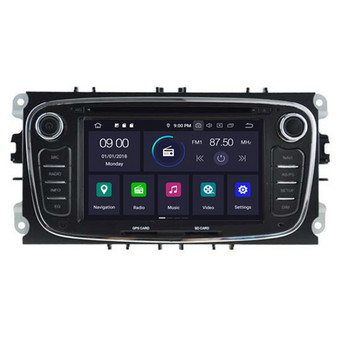 Ford Modeo Focus S-max android navigation gps system black color