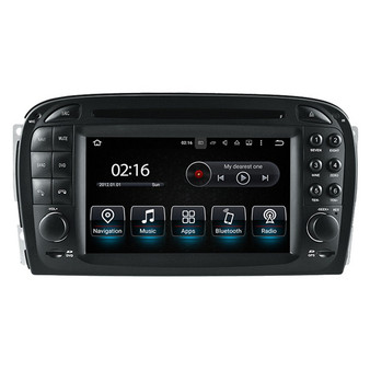 6.2'' Android GPS Navigation Head Unit for Mercedes Benz SL 2001-2004