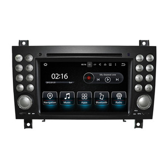7'' Android Car Navigation GPS for Mercedes Benz SLK 2008-2012