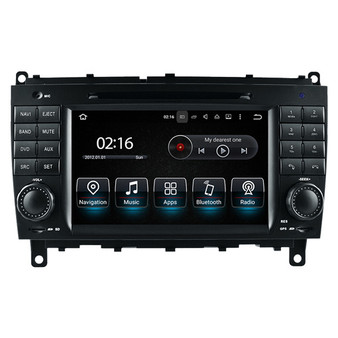 7'' android GPS navigation system for Mercedes Benz CLK CLS