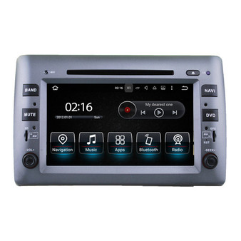 8'' Android Car Stereo GPS Navigation DVD for Fiat Siat(2002-2010)
